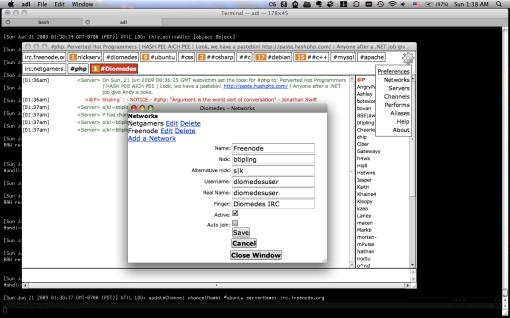 Diomedes IRC